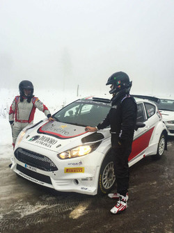 Max Rendina, la livrea per il Rally di Svezia
