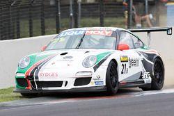 #21 JFC Freem Porsche 997 GT3 Cup: Sam Fillmore, Daniel Stuttard, James Burgmuller