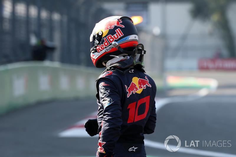 Pierre Gasly, Scuderia Toro Rosso en la FP3