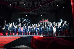 Atmosfera alla cena Ferrari