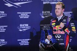 Polesitter Sebastian Vettel, Red Bull Racing