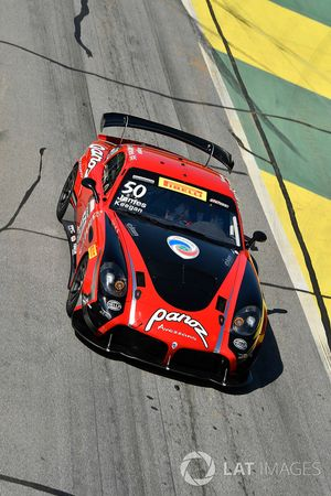 #50 Team Panoz Racing Panoz Avezzano GT4: Ian James, Matt Keegan