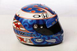 Helm von Scott Dixon, Chip Ganassi Racing Honda