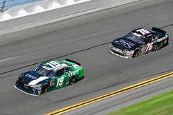 Brandon Jones, Joe Gibbs Racing, Juniper Toyota Camry, Spencer Boyd, SS-Green Light Racing, Grunt St