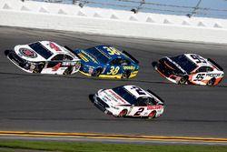 Brad Keselowski, Team Penske Ford Fusion Kevin Harvick, Stewart-Haas Racing Ford Fusion David Ragan,