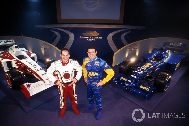 Jacques Villeneuve and Ricardo Zonta, British American Racing