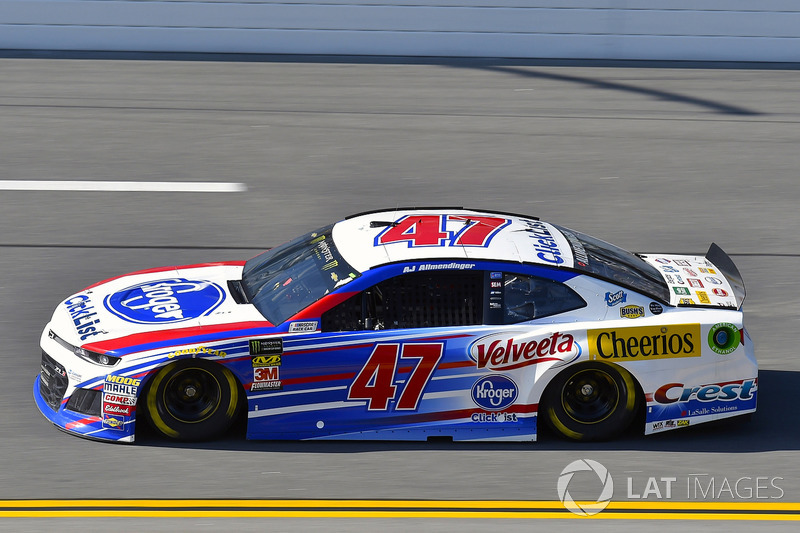 20. A.J. Allmendinger, JTG Daugherty Racing, Chevrolet