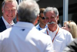Sean Bratches, Managing Director of Commercial Operations, Formula One Group, and Chase Carey, Chair
