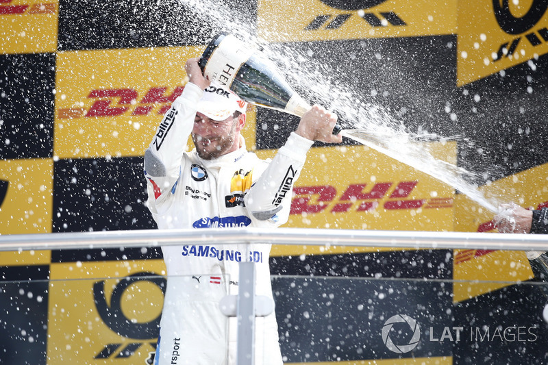 Podium: third place Philipp Eng, BMW Team RBM