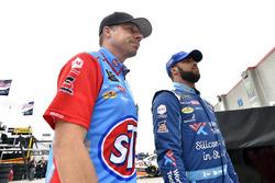 Darrell Wallace Jr., Richard Petty Motorsports, Chevrolet Camaro World Wide Technology and Drew Blickensderfer