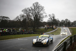 Start action, #75 Optimum Motorsport Aston Martin V12 Vantage GT3: Flick Haigh, Jonny Adam leads