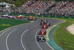 Lewis Hamilton, Mercedes-AMG F1 W09 EQ Power+ en tête au départ