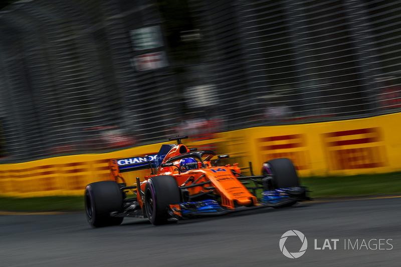 7 місце — Фернандо Алонсо, McLaren. Умовний бал — 15,189