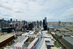La ligne d'horizon de Melbourne