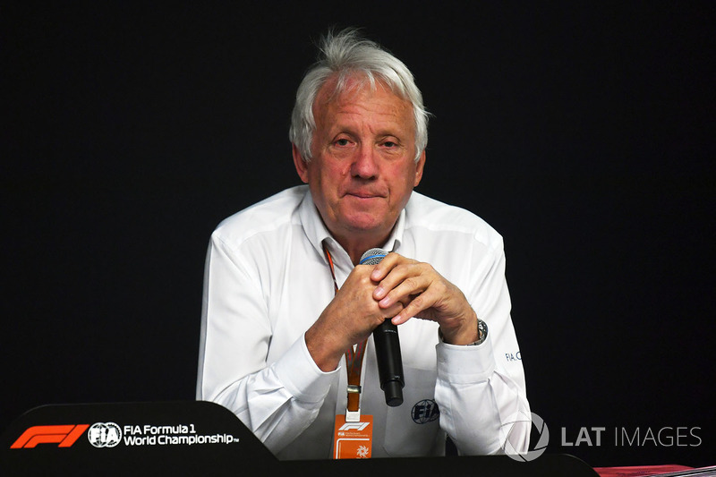 Charlie Whiting, Director de Carrera F1