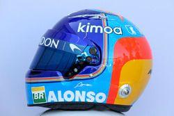 Fernando Alonso, McLaren helmet