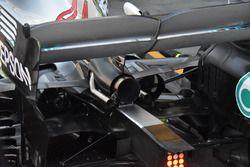 Mercedes-AMG F1 W09, dettaglio posteriore