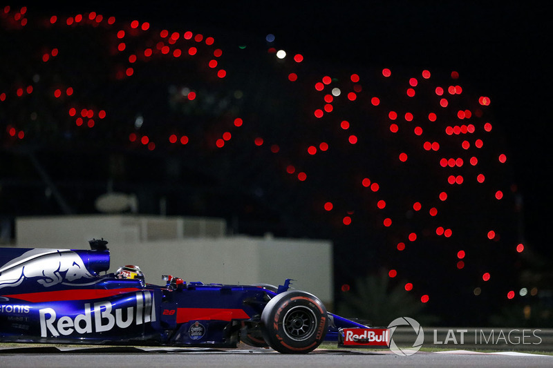 20. Brendon Hartley, Scuderia Toro Rosso STR12 *