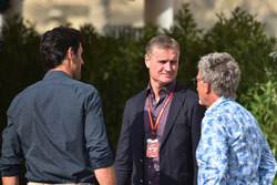 Mark Webber, David Coulthard, et Eddie Jordan, Channel 4 F1 TV
