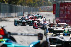Nick Heidfeld, Mahindra Racing Mitch Evans, Jaguar Racing