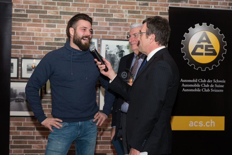 Stefano Comini alla premiazione ACS 2017