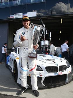 Pole position for #43 BMW Team Schnitzer BMW M6 GT3: Chaz Mostert