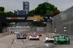 #22 Tequila Patron ESM Nissan DPi, P: Pipo Derani, Johannes van Overbeek, Leads the Field after the