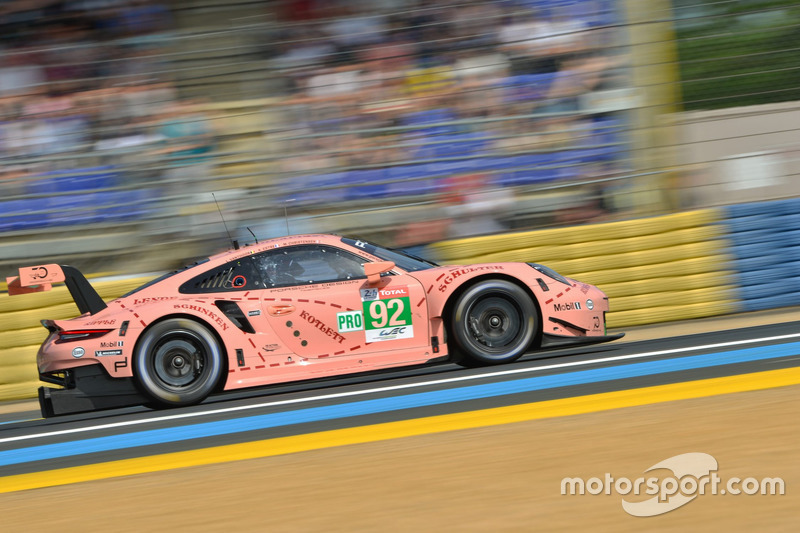 32. Микаэль Кристенсен, Кевин Эстре, Лоренс Вантхор, Дирк Вернер, Porsche GT Team, Porsche 911 RSR (№92)