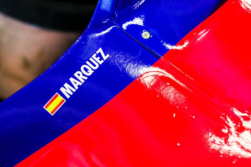 Marc Marquez Toro Rosso Run