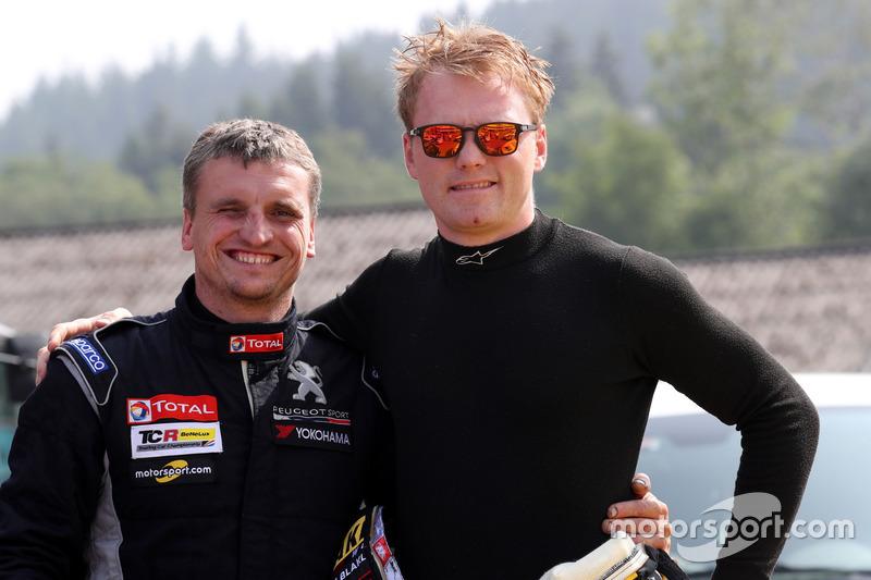 Julien Briché, JSB Compétition Peugeot 308 TCR, Stian Paulsen, Stian Paulsen Racing Cupra TCR