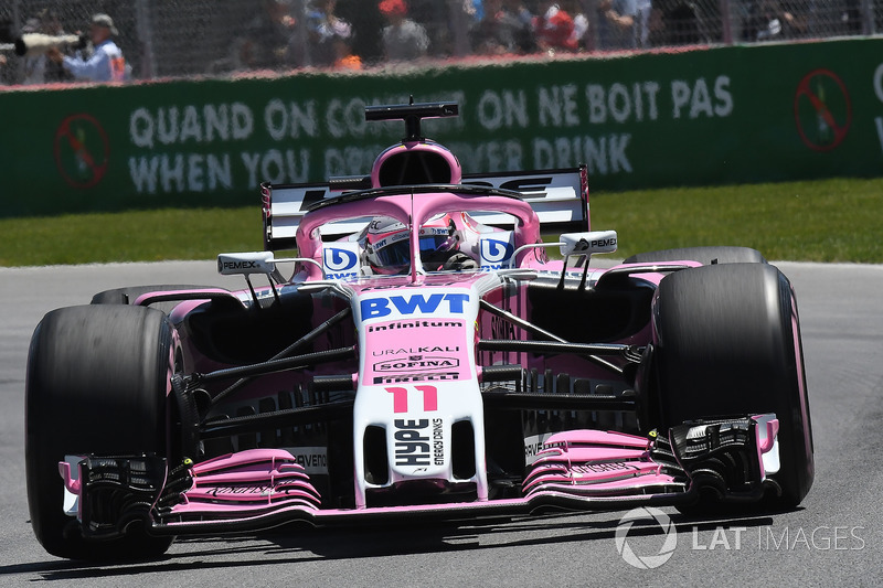 14. Sergio Perez, Force India VJM11