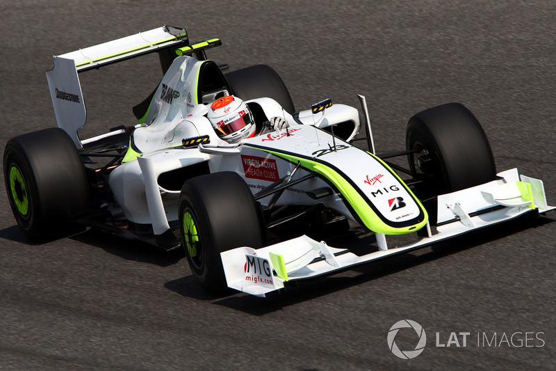 2009: Рубенс Баррикелло, Brawn-Mercedes BGP 001