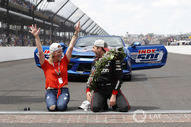 Победитель Уилл Пауэр, Team Penske Chevrolet