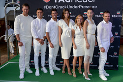 Tom Brady, Dan Carter, Daniel Ricciardo, Paulina Vega Dieppa, Geri Halliwell-Horner, Bella Hadid et Cadel Evans
