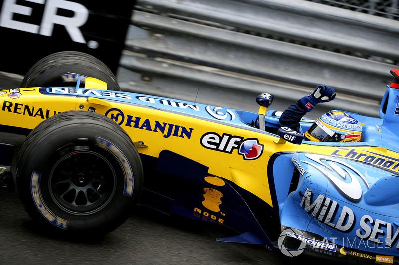 1: Fernando Alonso: 245 grandes premios (el 78,53% de los disputados)