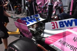 L'aileron arrière de la Force India VJM11