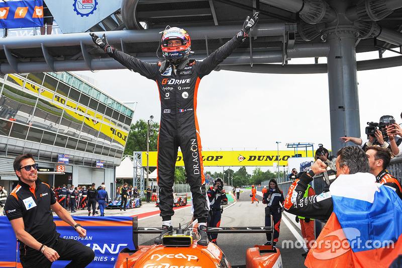 Il vincitore della garar #26 G-Drive Racing Oreca 07 - Gibson: Jean Eric Vergne