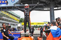 Race winner #26 G-Drive Racing Oreca 07 - Gibson: Jean Eric Vergne
