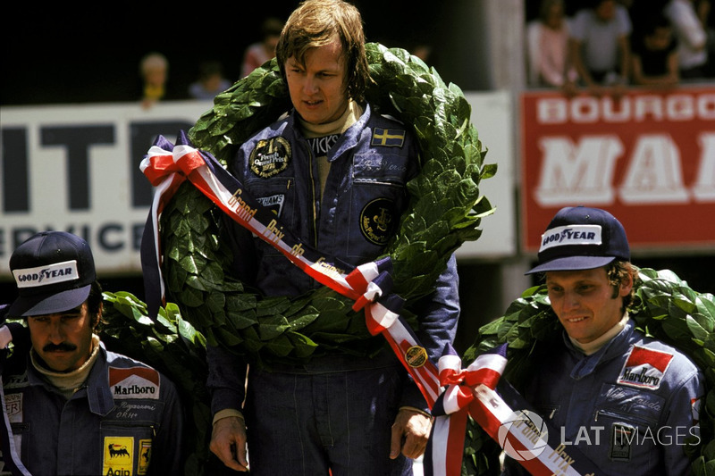 GP da França de 1974 – Vencedor: Ronnie Peterson