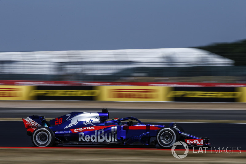 Start aus der Boxengasse: Brendon Hartley, Scuderia Toro Rosso STR13*