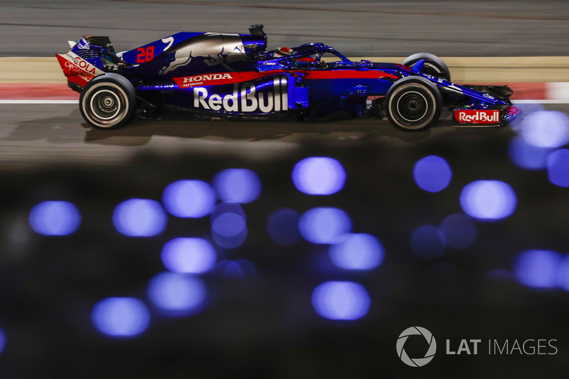 11. Brendon Hartley, Toro Rosso STR13 Honda