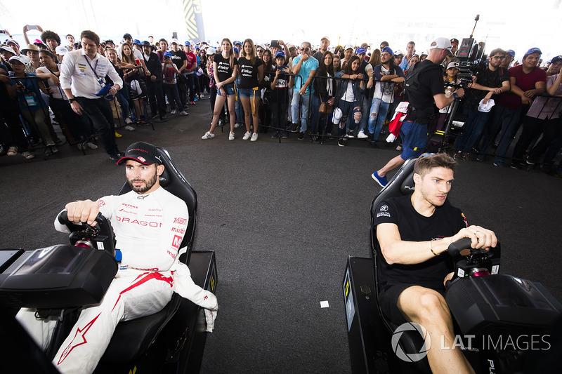 Jose Maria Lopez, Dragon Racing & Edoardo Mortara, Venturi Formula E Team