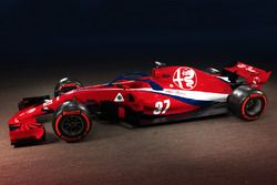 Sauber-Alfa Romeo konsept tasarım