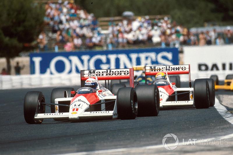 McLaren (Ayrton Senna/Alain Prost): 4