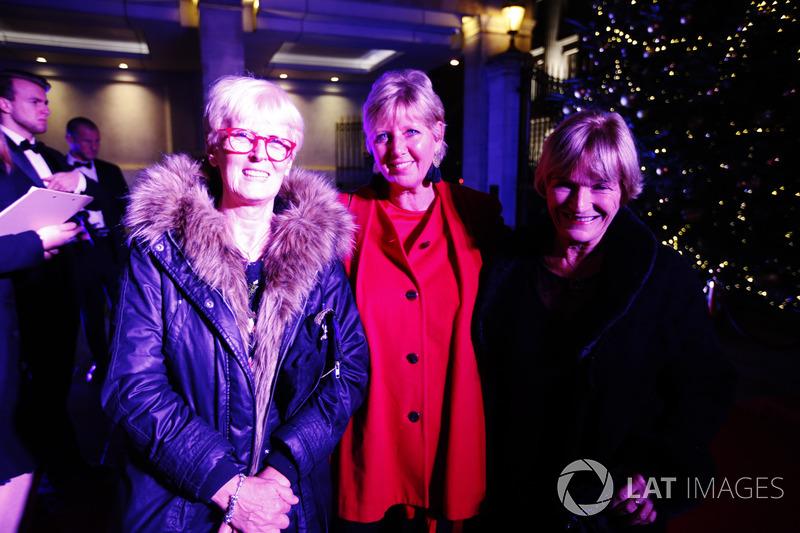 Anne Bradhsaw, Fiona Miller, Lynden Swainston