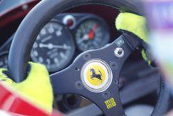 Dettaglio del volante della Ferrari 312 B3