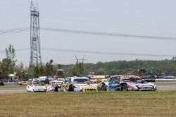 Christian Ledesma, Las Toscas Racing Chevrolet, Julian Santero, Dole Racing Torino, Alan Ruggiero, L