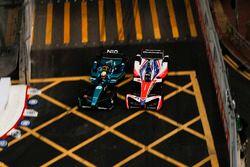 Oliver Turvey, NIO Formula E Team, Nick Heidfeld, Mahindra Racing