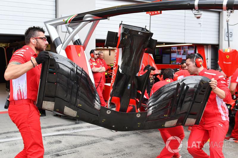 Ferrari SF71H front wing