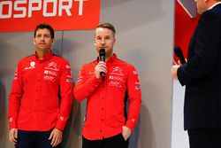 Citroen WRC driver Mads Ostberg on the Autosport Stage